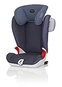Britax Kidfix SL SICT Group 2/3  4 - 12 Years High-Backed Booster Car Seat (Crown Blue)