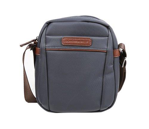 SALVADOR BACHILLER Bandelier Tasche - Boomer 50263 - Grau (Herren Tasche Piel)