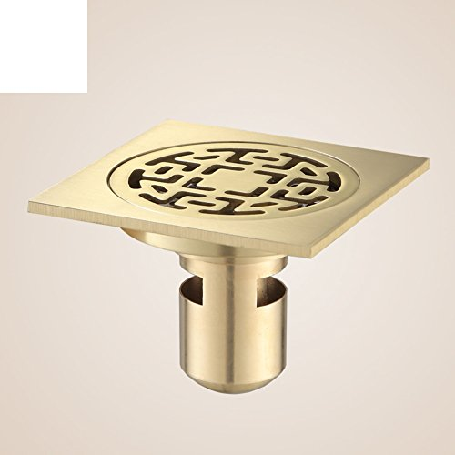 HCP Alle Maschine Kupfer Verdickung Bad Doppel Land Abfluss Wasch/Deodorant Konservierungsmittel304Edelstahl Bodenablauffilter-A