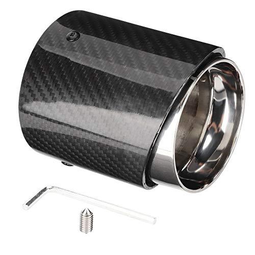 Outbit Auspuffrohr - Auspuffrohr aus Kohlefaser, Edelstahl, passend for Mini Cooper R55 R56 R60 R61