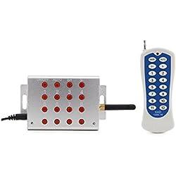 Controlador Remoto para max. 30 Focos de Piscina Multicolor hasta 150M 12VAC