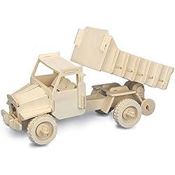 Camión QUAY de artesanía en madera Kit de construcción FSC