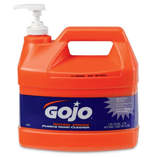 Hand Cleaner, Orange Pumice, w/Baby Oil, 1 Gal, Citrus