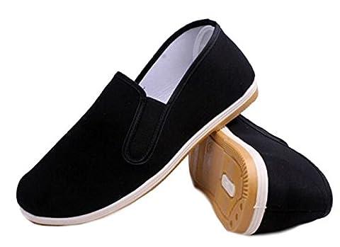 DADAWEN chaussons pour le KungFu/tai-chi /yoga en noir-(noir) 42