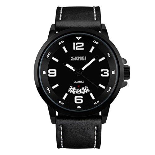 Herrenuhr Top-Marken-Sportuhr Fashion Casual Quarzuhr Herren Military Watch Men,A