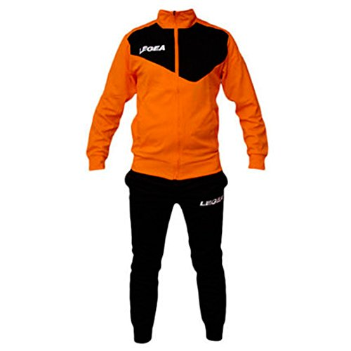 a29ae366a Tuta Legea M1110 Messico da Uomo Completa Giacca e Pantalone Training  Sportiva (L, Arancio