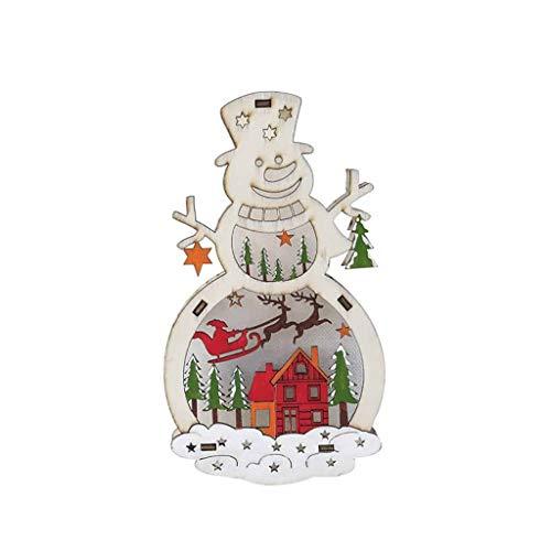 Girl Kostüm Little Led - Daygeve Zuhause Party Deko, Anatomische Tracing, Medizinische Lehre, Halloween Dekoration Statue,Hölzerne Weihnachtsmann/Schneemann Lampe Ornament Home Christmas Party Tischdekoration