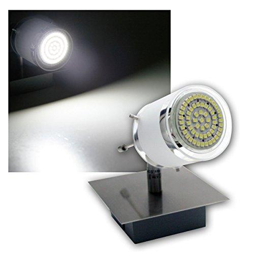 1er DESIGN LED Decken-Strahler, 60er SMDs kw, 230V