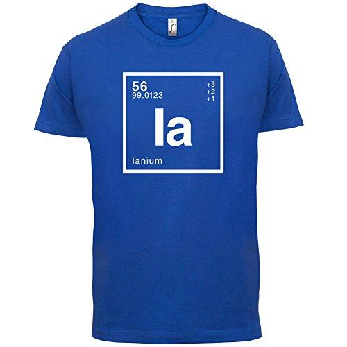 Ian Periodensystem - Herren T-Shirt - 13 Farben Royalblau