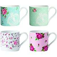 Royal Albert 4-Piece Mug Set