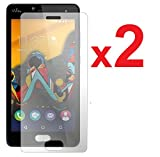 2 Films Vitre Verre Trempé de protection ecran pour WIKO U-FEEL LITE by Campus...