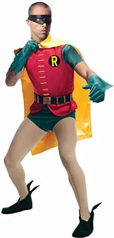 Red Robin Costume Dc - Batman Classic 1966 Grand Heritage Costume Adult: