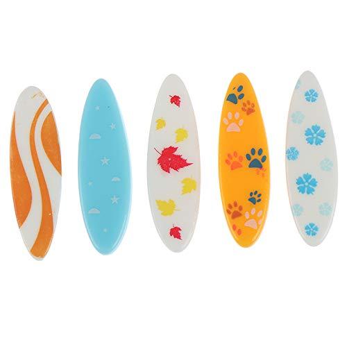 SONIRY 5 PC-Karikatur Surfboard Sea Modell Figürchen Spielzeug Schmuck Craft Bonsai-Dekor-Miniatur-Haus-Fee-Garten-Puppe Kuchen-Dekoration DIY