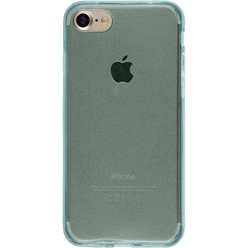 PhoneNatic Custodia Apple iPhone 8 Cover azzurro 360° Fullbody iPhone 8 in silicone Case Azzurro