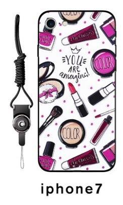 iPhone 7 Plus/7 Hülle Schutzhülle Cover mit Tragband verschiedene 3d Textur und Motiv zur Auswahl...