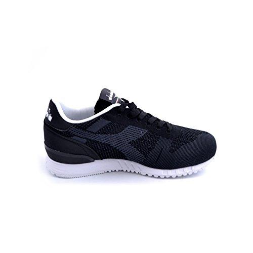 Diadora Titan Weave, Sneaker Bas du Cou Mixte Adulte Noir