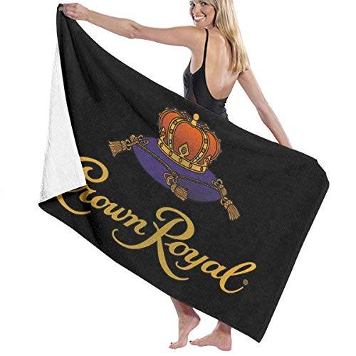 Ghkjhk8790 Bath Towel, Crown Royal Bath Towels Super Absorbent Beach Bathroom Towels for Gym Beach Spa