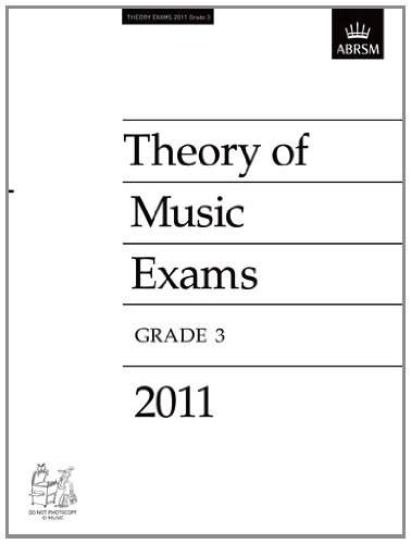 Theory of Music Exams 2011, Grade 3 Cover Image