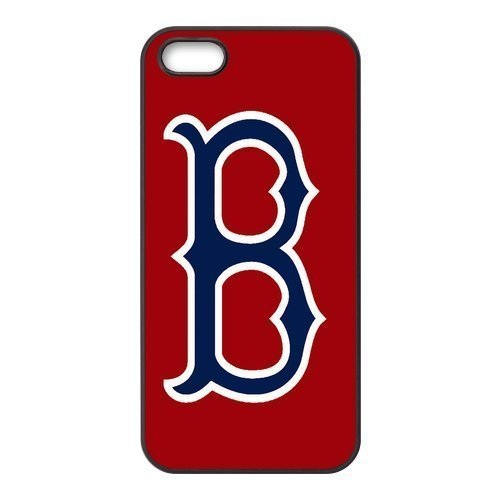 Custom Red Sox Back Cover Case for iphone 5,5S JN5S-1231