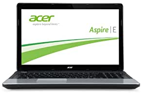 Acer Aspire E1-531-B9604G50MNKS 39,6 cm (15,6 Zoll) Notebook (Intel Pentium B960, 2,2GHz, 4GB RAM, 500GB HDD, Intel HD, DVD, kein Betriebssystem) schwarz