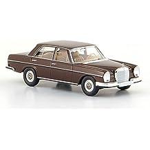 Mercedes 280 SE (W 108), dkl.-braun, 1965, Modellauto, Fertigmodell, Brekina Starmada 1:87