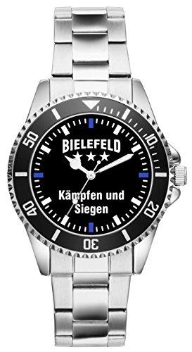 Bielefeld Geschenk Artikel Idee Fan Uhr 2349