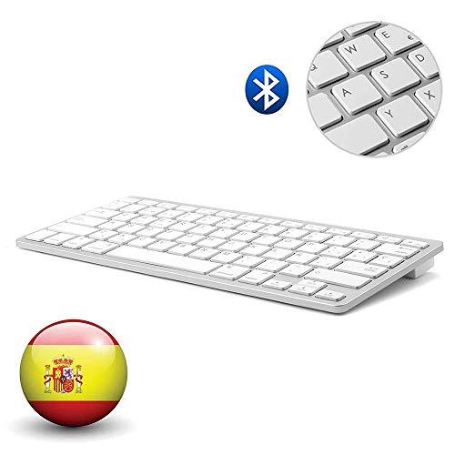 Dingrich Teclado Inalámbrico Español Bluetooth 3.0