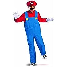 Shoperama Costume pour homme Super Mario Bros Rouge/bleu by shoperama