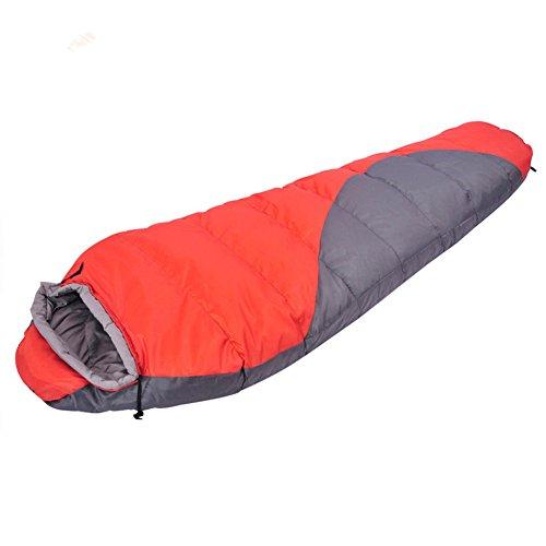 Kereith Camping Saco de Dormir Interior y al Aire Libre Adulto de Dormir de Invierno para Mochila Senderismo Viajes con Bolsa de compresión