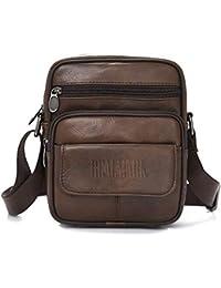 Realmark Cuero Bolso Bandolera Messenger Negocios Monedero Bolsa maletín portátil Bandolera de los Hombres