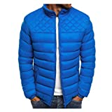 ODRD Herren Softshelljacke Zipper Daunenjacke Packable Light Coat Mantel Men Jeansjacke Jacke Trekking Windbreaker Outdoorjacke Windjacke Fliegerjacke üBergangsjacke Business Winterjacke Winterjacken