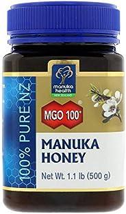 Manuka Health, Manuka Honey, MGO 100, 1.1 lb (500 g)