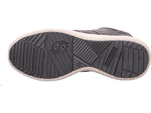 Dockers by Gerli 41sn001-777200, Sneakers Basses Homme Gris (Grau)