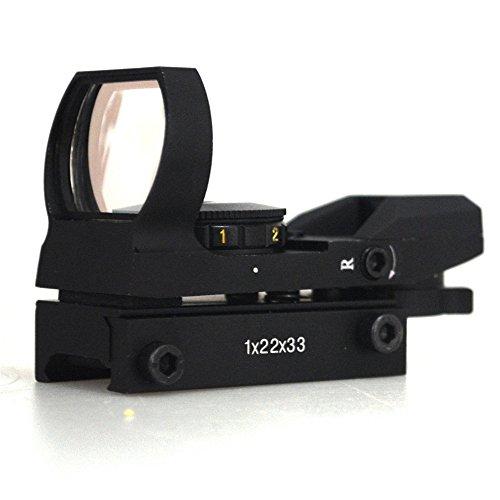 Minidiva Jagd Tactical 20mm Holographic 1x22x33 Reflex Red Grüner-Punkt-Laser-Anblick-Bereich -