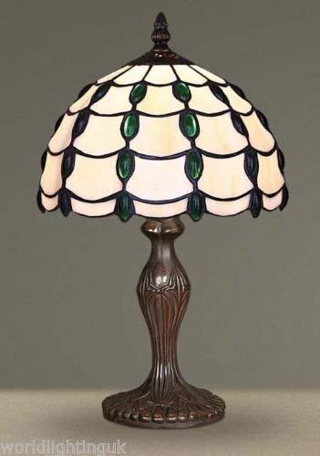 Wunderschön Tiffany Inspiriert Dekorativ Elektrisch Nachttisch Lampe - G101876 -