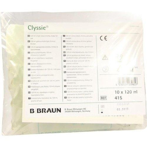 Clyssie Einmalklistier, 10X120 ml