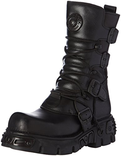 New Rock - M 373 S18, Stivali Unisex – Adulto Nero (Black (nero))
