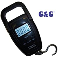 60482 25 kg Behr Bootsanh/änger Digitale Anglerwaage