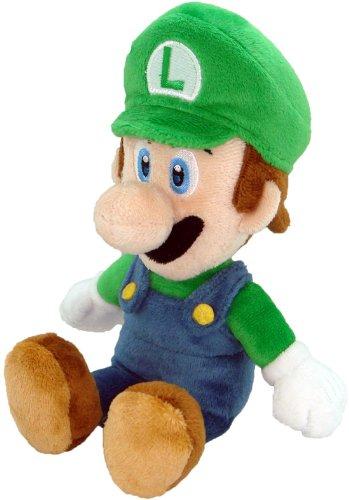 Unbekannt Super Mario Plüsch-20,3cm Luigi Weich Gefülltes Plüsch Spielzeug