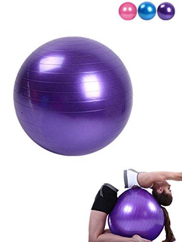 Lunji - Pelota de ejercicio 45 cm para fitness