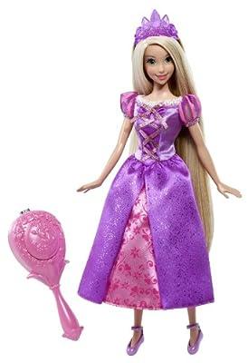 Princesas Disney - Rapunzel Cepillo Mágico, muñeca y accesorios (Mattel X9383) por Mattel