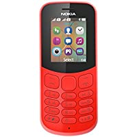 "Nokia 130 DS TA-1017 1.8"" 68g Rojo Característica del teléfono - Teléfono móvil (Barra, SIM doble, 4,57 cm (1.8""), 0,3 MP, 1020 mAh, Rojo)"