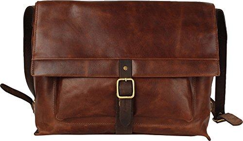 Harold's Stag Messengerbag mit Laptopfach 23 olive