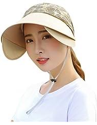 Hyun times Chapeau femme été femme sauvage cran protecteur anti-ultraviolet