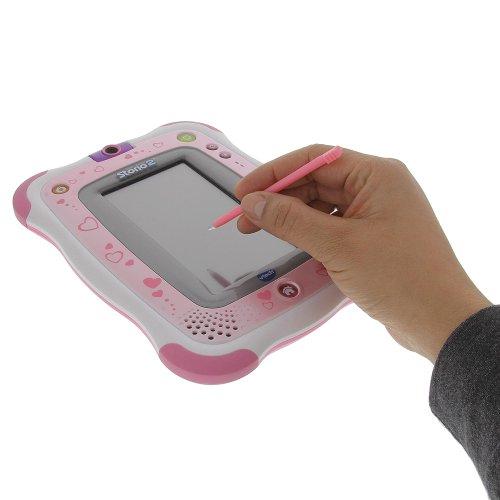 foto-kontor Stift für VTech Storio 2 Kinder Tablet Ersatzstift Eingabestift 10 Stück farbig bunt