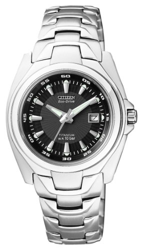 Citizen supertitanio eco drive ew0910-52e - orologio da polso donna