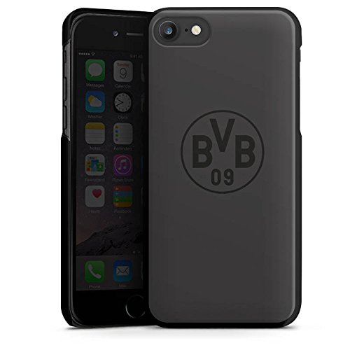Apple iPhone 6 Hülle Case Handyhülle Borussia Dortmund BVB Logo grau Hard Case schwarz
