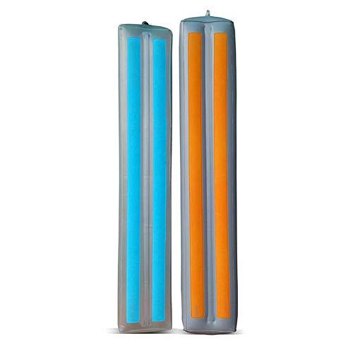 2 STÜCKE Bettgitter Stoßfänger für Kleinkinder Aufblasbare Wasserdicht Sicherheit Rutschfeste Bett Leitplanke Krippe Schiene -
