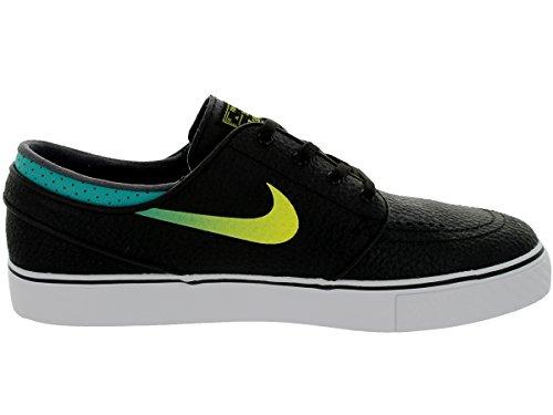 NIKE  Zoom Stefan Janoski, Chaussures de skateboard homme noir/vert