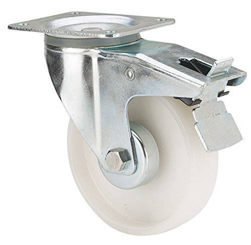 4 Stück Lenkrollen Transportrollen lenkbar 160mm Kunststoffrad NEU